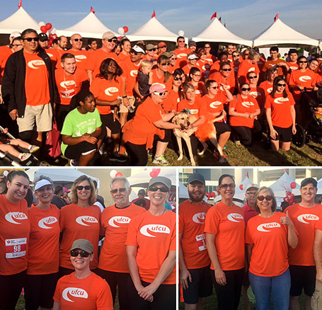 UFCU participated in the 2015 Austin Heart Walk