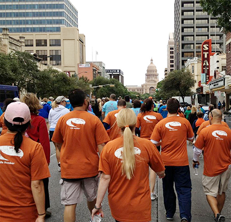 UFCU Employees participate in the NAMI walk