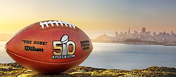 Win tickets to the Super Bowl