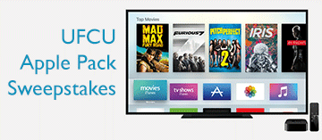 UFCU Apple Pack Sweepstakes