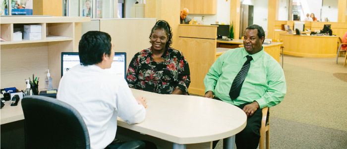 UFCU Members work with a personal financial advisor