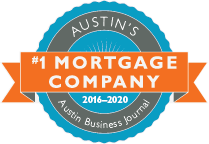 Austin's #1 Mortgage Lender 2016-2018 (Austin Business Journal)