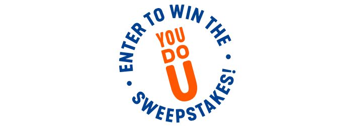 Enter to win the You Do U Sweepstakes!